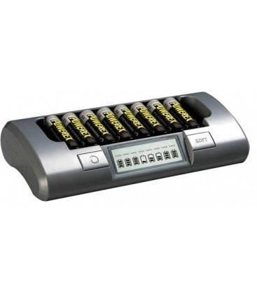 CHARGEUR POWEREX MH-C800S PACK PLUS AVEC 8 BATTERIES 2700MA