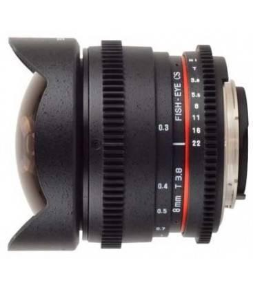 SAMYANG 8 mm T3.8 V-DSLR II PARA CANON