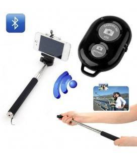 SELFIE KIT MONOPOD Y DISPARADOR BLUETOOTH NEGRO