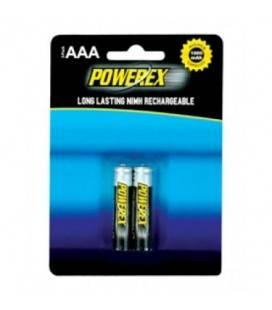 POWEREX PACK 2 BATERIAS RECARGABLES AAA NiMH 1,2v 1000mAh