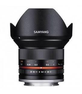 SAMYANG 12MM f/2.0 NCS CS Fuji X Black