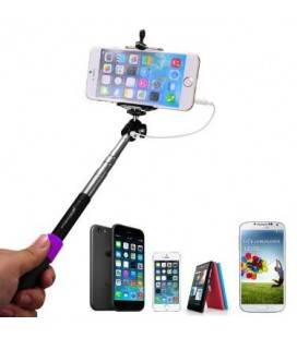 SELFIE MONOPOD WITH BLACK/PINK/GREEN/BLUE WIRE