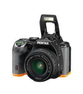PENTAX K-S2 + 18-50 WR (ORANGE WITH BLACK)