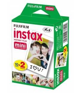 FUJIFILM INSTAX MINI (PELICULA INSTANTANEA) ) 2 PACK X 10