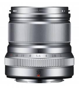 FUJIFILM OBJETIVO XF 50mm f/2 R WR SILVER/PLATA