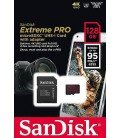 SANDISK MICRO SD EXTREME PRO 95MB/S 128GB