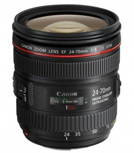 CANON EF 24-70mm f/4L IS USM + FREE 1 an VIP MAINTENANCE SERPLUS CANON