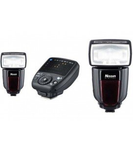 NISSIN KI 2 DI700A SONY 2FLASHES + TRANSMISOR AIR 1