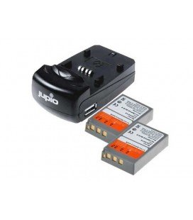 JUPIO KIT CARGADOR USB + 2 BATERIAS PS-BLS5/PS-BLS50