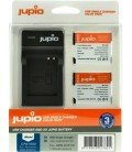 JUPIO 2 BATTERIE DMW-BCM13E PANASONIC + KIT CARICABATTERIE USB 1150MAH (CPA1000)