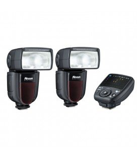 NISSIN KIT 2 DI700A CANON 2FLASHES + TRANSMITTER AIR 1