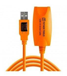 TETHER TOOLS  TETTHERPRO USB 2.0 ESTENSIONE ATTIVA 5MTS. ARANCIONE