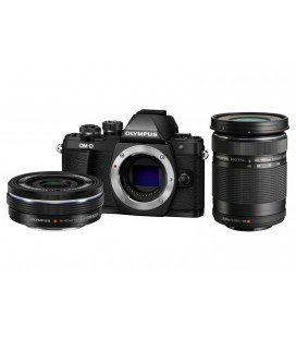 OLYMPUS OMD EM10 MARK II +1 4-42MM EZ + 40-150MM R 2-LENS KIT