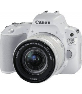 CANON EOS 200D BLANCO + 18-55 IS STM