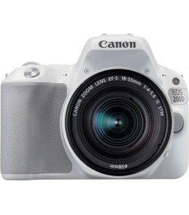CANON EOS 200D + 18-55 IS STM KIT - BLANCO