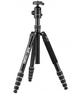 SWISS+GO PRO ELITE VIP 85-TRIPOD 5 SECTIONS - ALUMINIUM