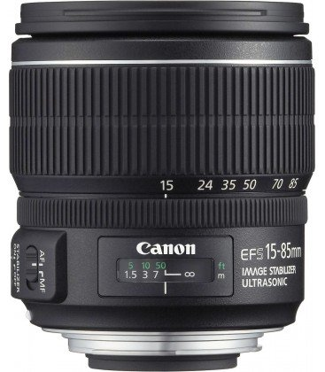 CANON EF-S 15-85mm f/3.5-5.6 IS USM + GRATIS 1 ANNO VIP MAINTENANCE SERPLUS CANON di manutenzione VIP