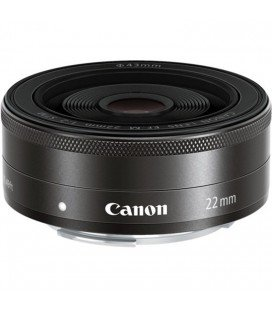 CANON 22MM EF-M F/2 STM + GRATIS 1 AÑO MANTENIMIENTO VIP SERPLUS CANON