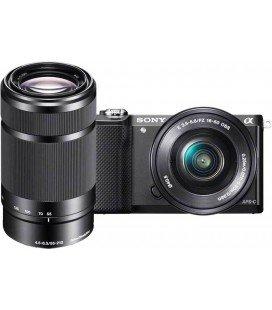 SONY ALPHAILCE 5100 + 16-50mm + 55-210MM NEGRO