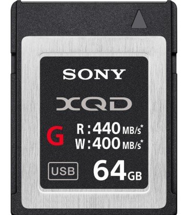 SONY XQD-TARJETA SERIE G 64GB 440MB/s