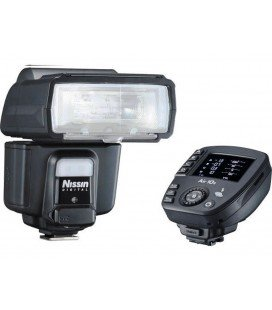 NISSIN I60A + AIR 10S PARA CANON - KIT DE FLASH Y DISPARADOR INALÁMBRICO