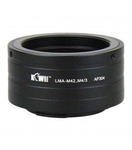 KIWIFOTOS  LMA-M42_M4/3 M42 ADAPTER
