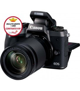 CANON EOS M5 + EF-M 18-150MM IS STM + REGALO MICRO RODE Y GORILLA TRIPODE + GRATIS 1 AÑO MANTENIMIENTO VIP SERPLUS CANON