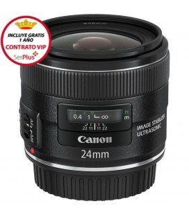 CANON EF 24mm f/2.8 IS USM + GRATIS 1 AÑO MANTENIMIENTO VIP SERPLUS CANON