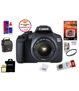 CANON EOS 2000D + 18-55 IS II PACK BASICO