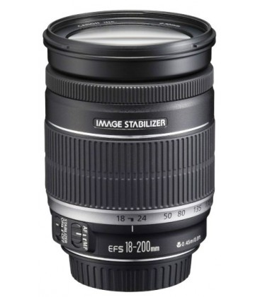 CANON EF-S 18-200mm f/3.5-5.6 IS + GRATIS 1 AÑO MANTENIMIENTO VIP SERPLUS CANON