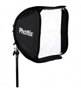 PHOTTIX SOFTBOX 40X40 CON KIT DI SUPPORTO
