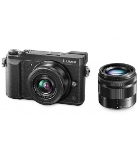 PANASONIC LUMIX DMC-GX80 BLACK BAG PACK PGS81+12-32mm F3.5-5.6 +35-100MM F4-F5.6+BATTERY BLG10