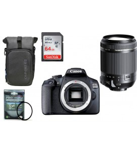 CANON EOS 2000D PACK ALL TERRAIN