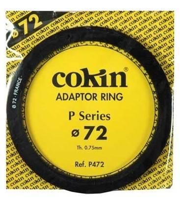 COKIN ANILLA ADAPTADOR SERIE P DE 72 MM.